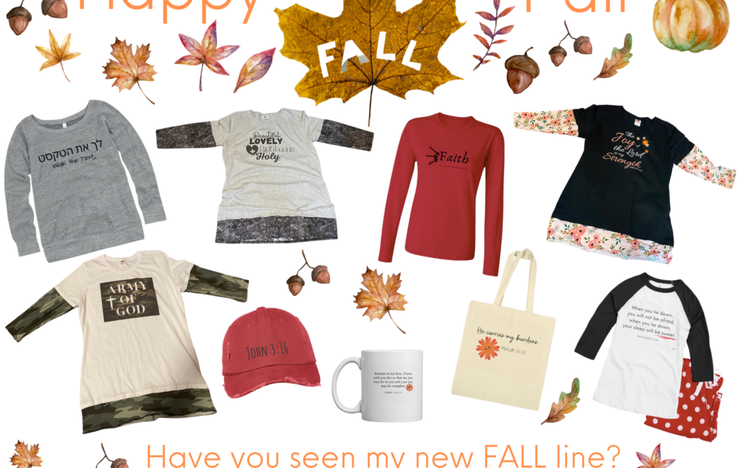 The New FALL line is here!