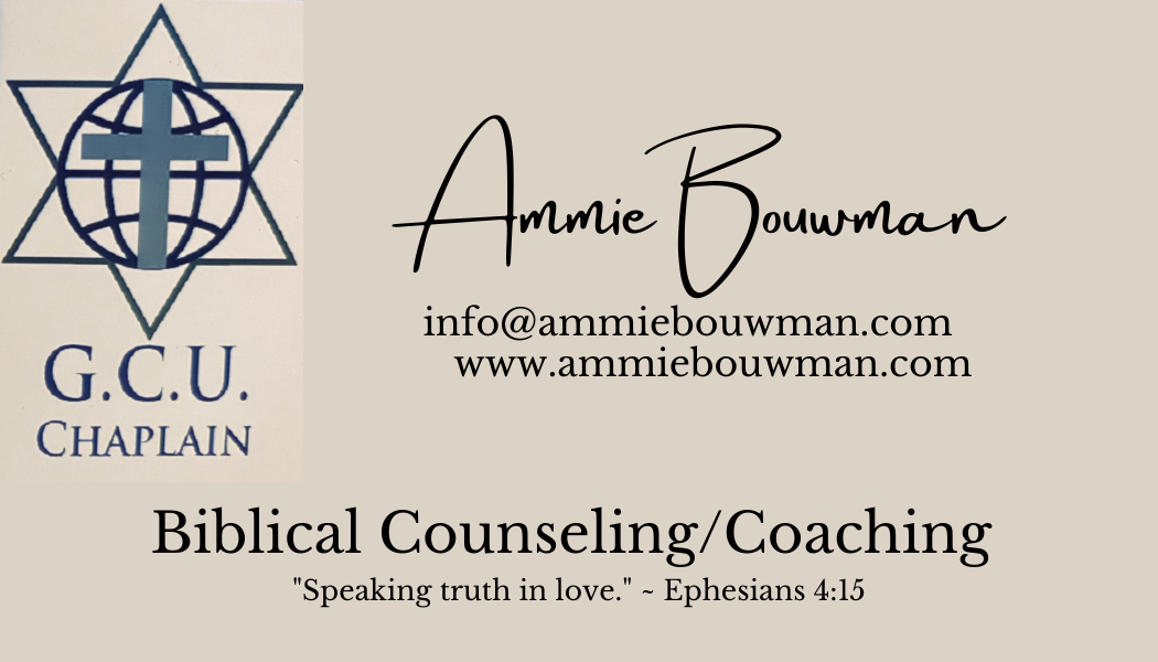 For His Glory Ministry is now offering Biblical Counseling/Coaching. For more information, see our Ministry page.